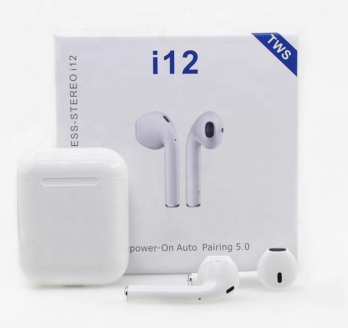 i12 tws white color simple version Wholesalers & Manufacturers Support OEM & ODM
