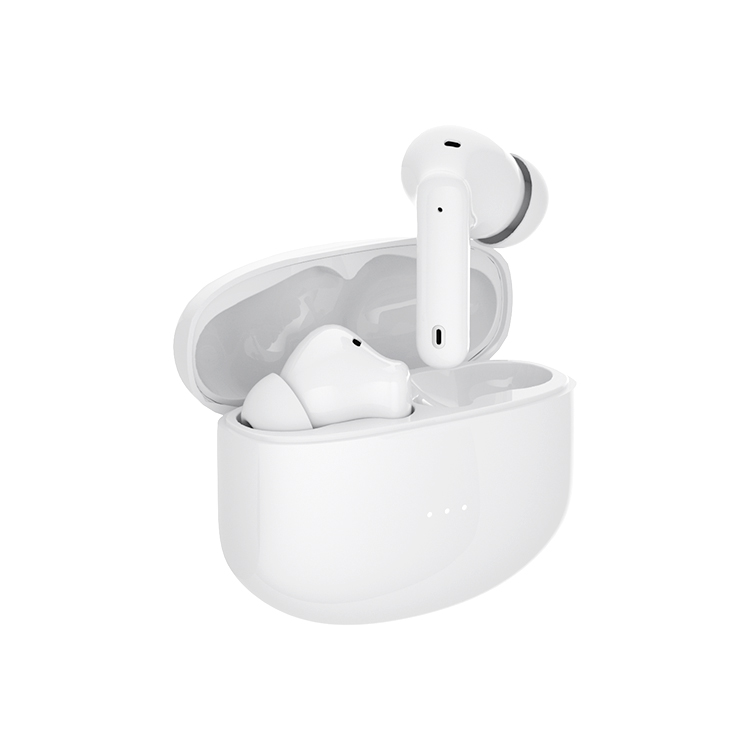 A40 pro TWS ANC True Wireless Earphones Active Noise Cancelling Bluetooth Headphone, Support Wireless Charging