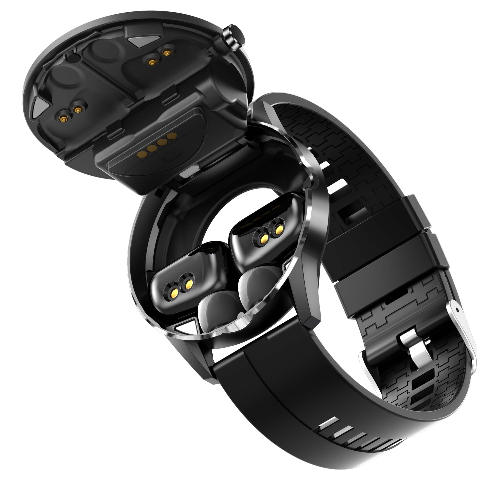 Smart Watch with Bluetooth Earphone X6 Manufacturer Enle Support OEM and ODM.