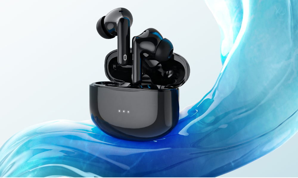 amazon top seller 2021 A40 pro ANC TWS headphone wireless earbuds gaming headset tws