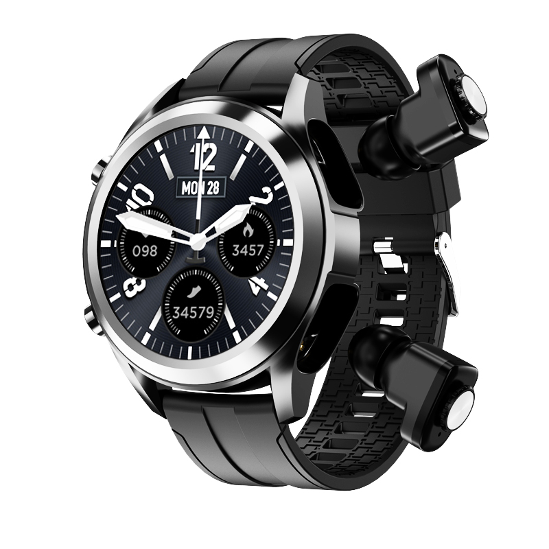 Smartwatch with Earbuds 2 in 1 T10